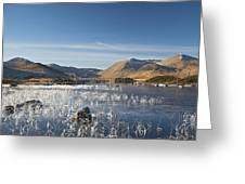 Rannoch Moor - Winter Greeting Card