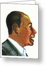 Raoul Peck Greeting Card