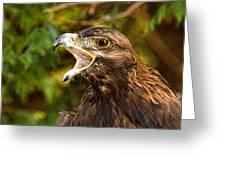 Raptor Rage Greeting Card