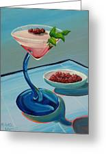 Raspberry Mojito Greeting Card