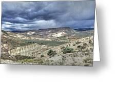 Rattlesnake Ridge Geological Site Greeting Card