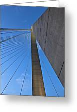 Ravenel Overhead Day - Vertical Greeting Card