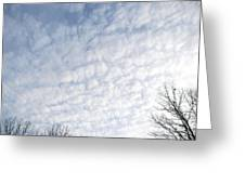 Reaching The Clouds Greeting Card