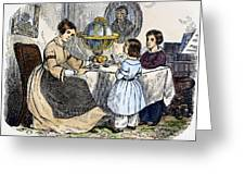 Reading, 1866 Greeting Card
