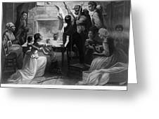 Reading Emancipation Proclamation Greeting Card