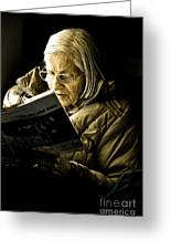 Reading Is Lifetime Passion Greeting Card
