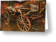 Ready For A Sunday Drive - Featured In Tennessee Treasures Group And Spectacular Artworks Group Greeting Card