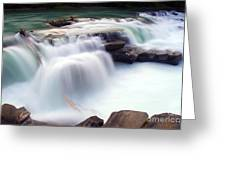 Rearguard Falls Greeting Card by Terry Elniski