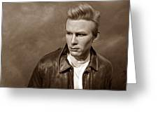 Rebel Without A Cause S Greeting Card