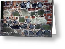 Rebuilt Wall Greeting Card by Dirk Wiersma