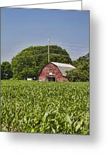 Red Barn - What Charm Greeting Card