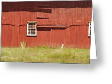 Red Barn Of New Jersey Greeting Card