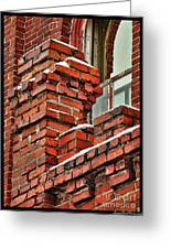 Red Brick Mill Greeting Card