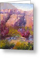 Red Bud Trees Greeting Card