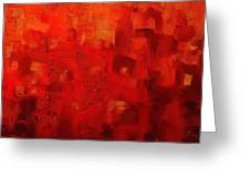 Red City 2 Greeting Card