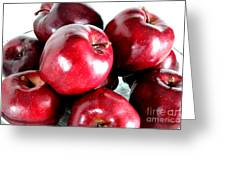 Red Delicious Apples Greeting Card