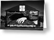 Red Hand Ulster Mural Greeting Card
