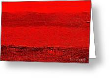 Red Ll Greeting Card