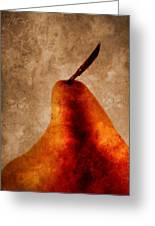 Red Pear I Greeting Card