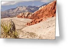 Red Rock Canyon - Keystone Thrust Greeting Card