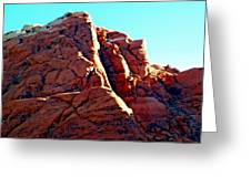 Red Rock Canyon 5 Greeting Card by Randall Weidner