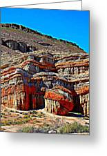 Red Rock Canyon California Greeting Card