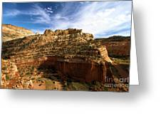 Red Rock Canyons Greeting Card