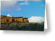 Red Rock In New Mexico Greeting Card