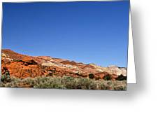 Red Rock Sundown Greeting Card