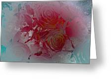 Red Roses Rose Rosse Greeting Card