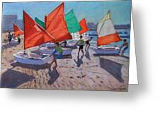 Red Sails Greeting Card