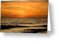 Redington Beach Sunset Greeting Card