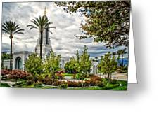Redlands Temple Palm Greeting Card