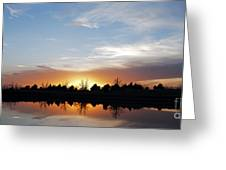 Reflected Sky Greeting Card
