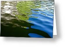 Reflecting Lake Of The Isles  Greeting Card