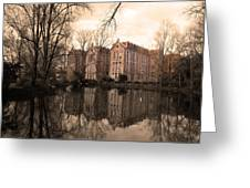 Reflecting Memories Greeting Card by Dias Dos Reis
