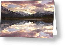 Reflecting Mountains Greeting Card