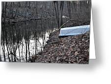 Reflection Creek  Greeting Card