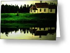 Reflection Of Faith  Greeting Card