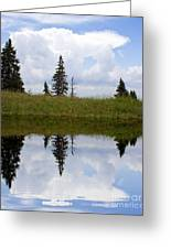 Reflection Of Lake Greeting Card