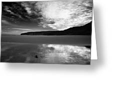 Reflection Of Sky Greeting Card