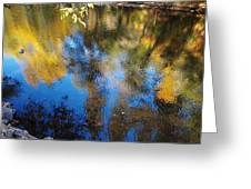 Reflection Perfection Greeting Card