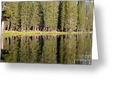 Reflections Along Summit Lake Greeting Card