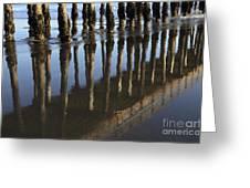Reflections Avila Beach California Greeting Card