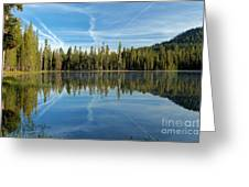 Reflections At The Summit Greeting Card