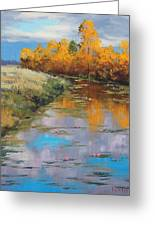Reflections Greeting Card by Graham Gercken