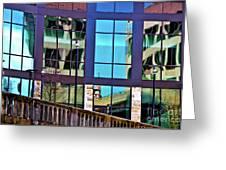 Reflections In San Antonio Texas Greeting Card