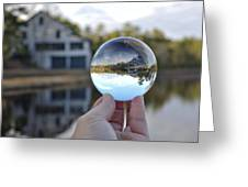 Reflections Of A Beautiful Day Greeting Card