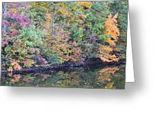 Reflections Of A Tapestry 2 Greeting Card