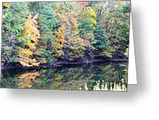 Reflections Of A Tapestry Greeting Card